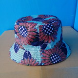 Bucket cap for adults/waterproof/double-face/GG3007