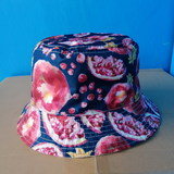 Bucket cap for adults/waterproof/double-face/GG3002