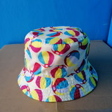 Bucket cap for kids/waterproof/double-face/GK2005