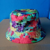 Bucket cap for adults/waterproof/double-face/GG3001